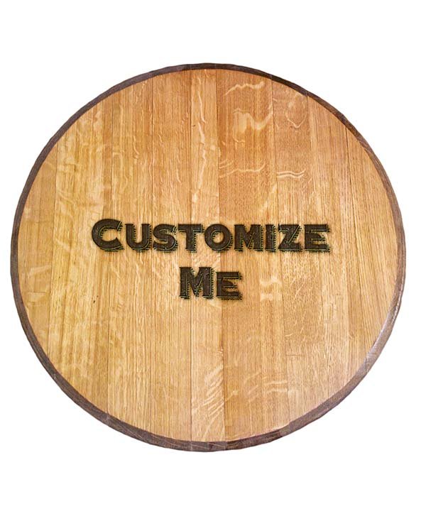 Custom Engraved Barrel Head