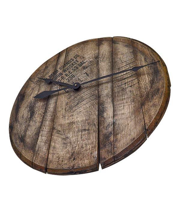 Bourbon Barrel Head Wall Clock 2