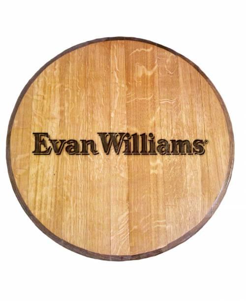 Evan Williams Bourbon Barrel Head