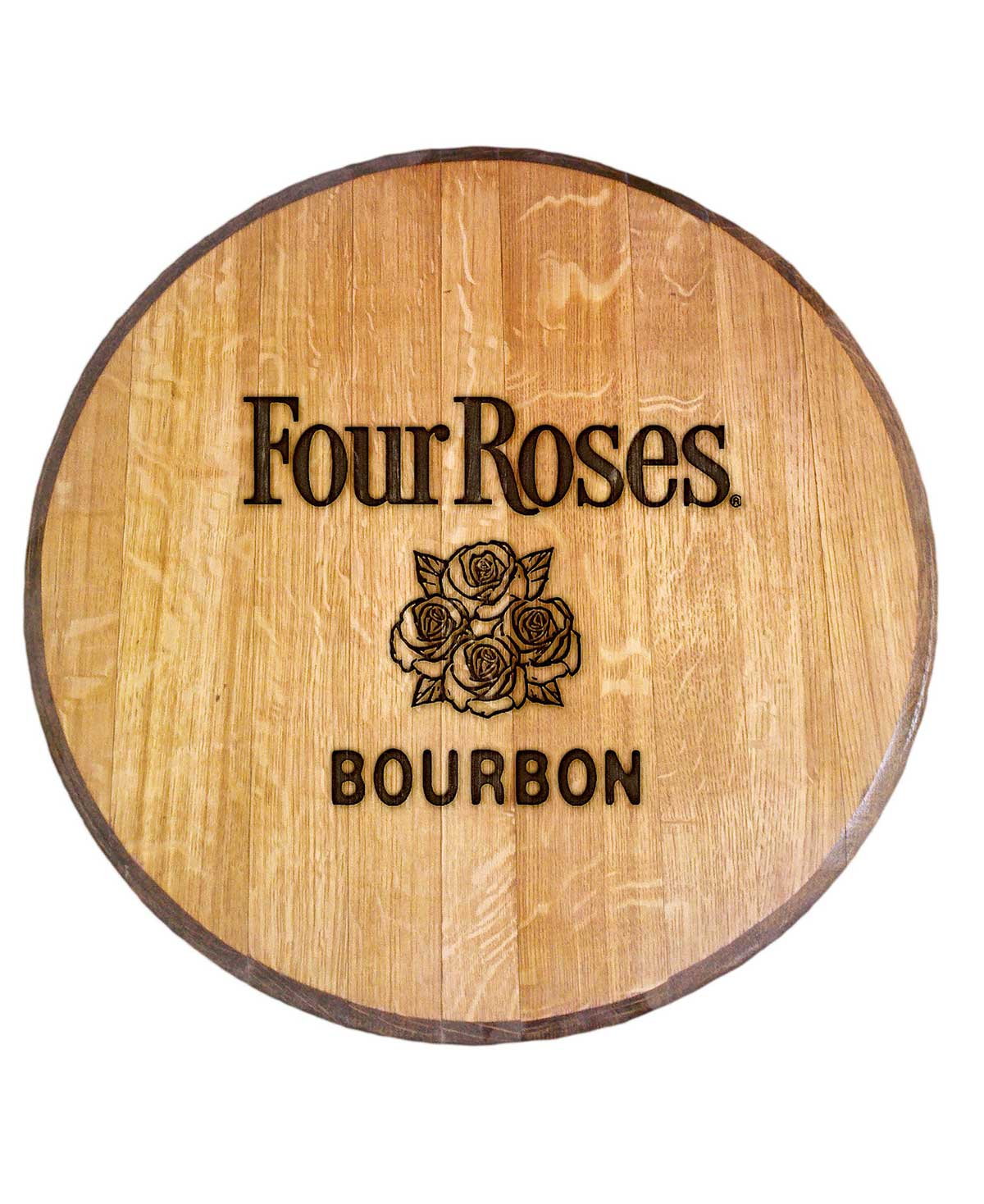 Four Roses Bourbon Barrel Head