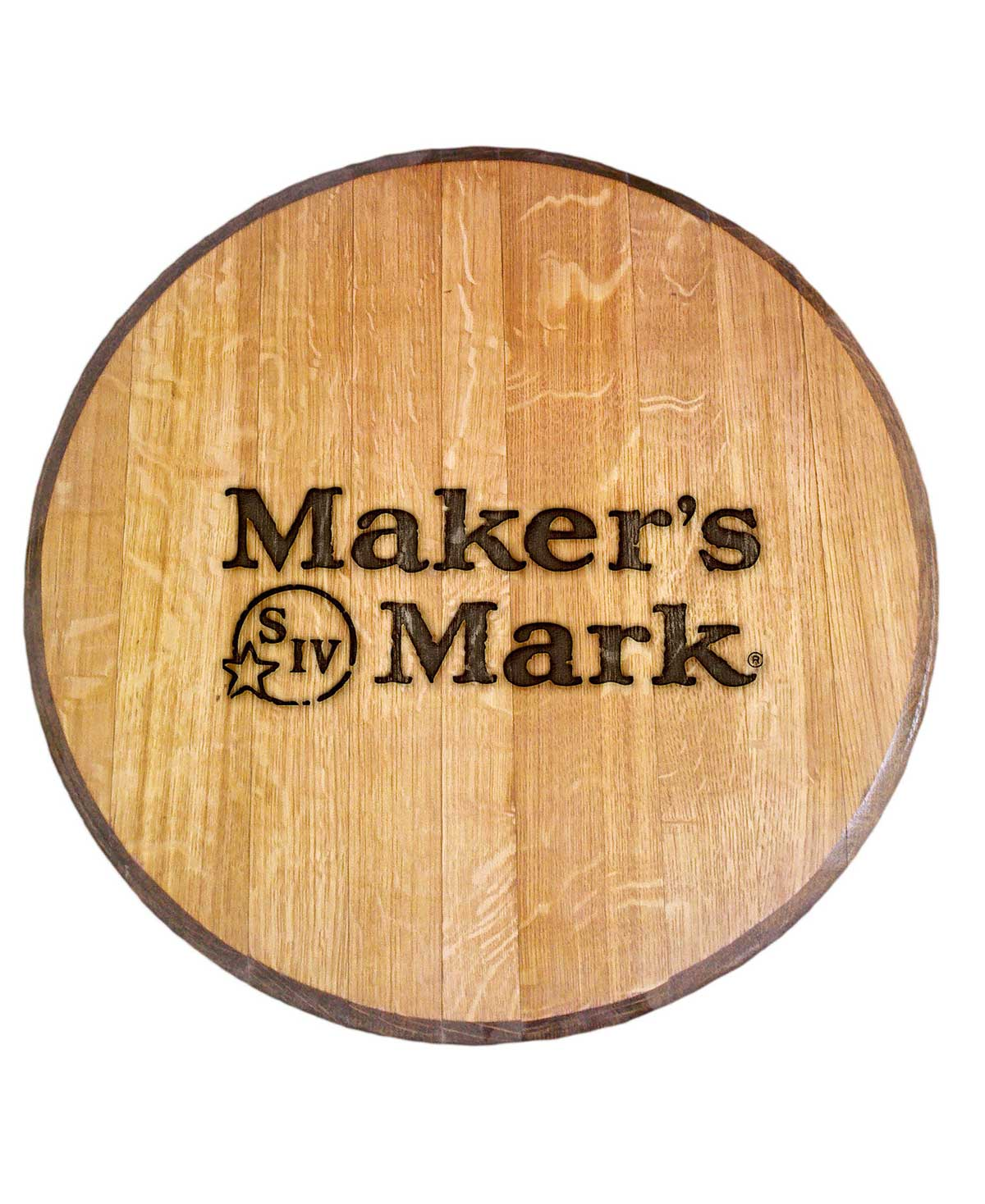 Makers Mark Bourbon Barrel Head