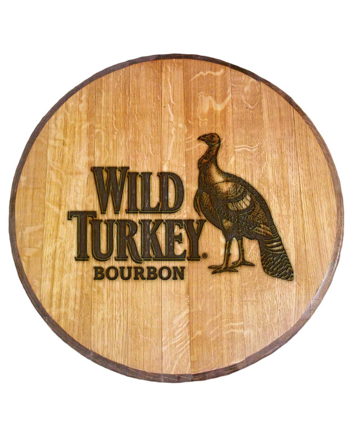 Wild Turkey Bourbon Barrel Head