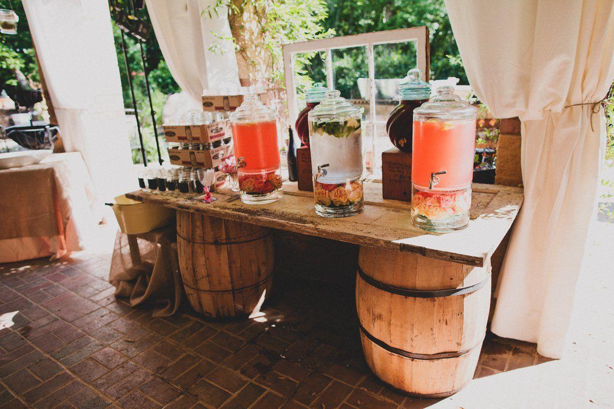 whiskeymade signature pink whiskey wedding drinks