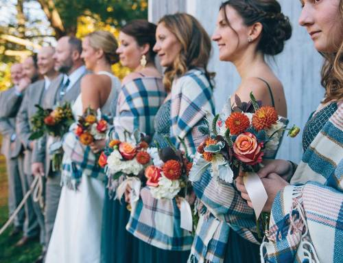 5 Clever rustic fall wedding ideas (that don't involve pumpkins!)