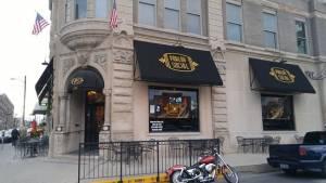Bourbon bar in Lexington, KY