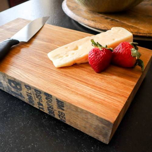 "14"" Bourbon Barrel Cutting Board"