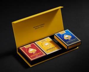 Whiskey Playing Cards - Kickstarter - Gifts for groomsmen