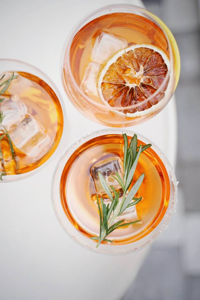 Outdoor Whiskey Cocktails