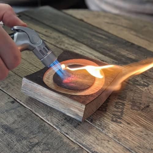 Smoked Cocktail Wood Burning